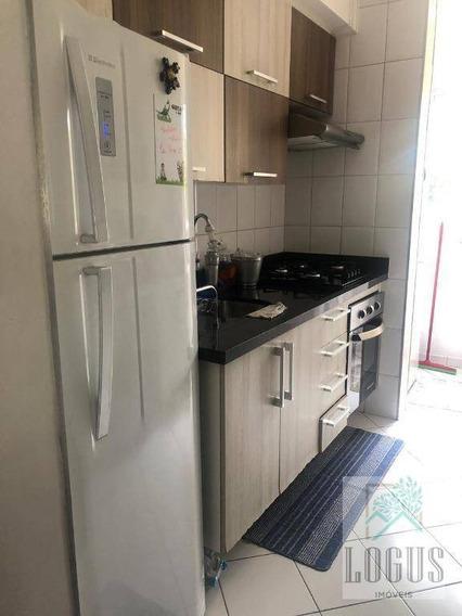 Apartamento Com 2 Dormitórios À Venda, 48 M² Por R$ 210.000,00 - Demarchi - São Bernardo Do Campo/sp - Ap0568