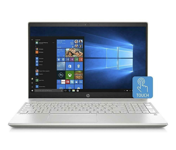 Notebook Hp 15 8ª Ger I7 32gb 128ssd+1t Mx150 4gb 15,6 Touch
