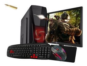 Pc Gamer I5 4460s 4ºgeração 8gb Ssd480 Gt710 Kit Gamer Lg19