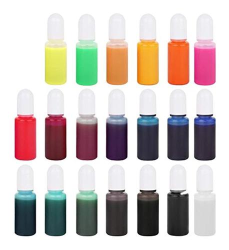 Imagen 1 de 7 de 20 Colorantes De Resina Epoxi De Color Con Pigmentos