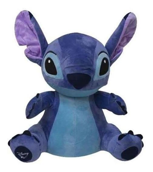 Boneco De Pelucia Stitch C/ Som De 30 Cm Criança Bebe