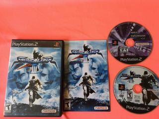 Soul Calibur 3+ Bonus Disc Ps2 (game Army)