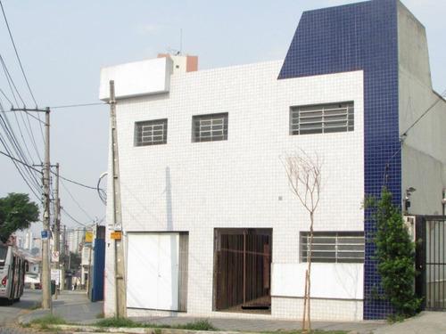 Prédio  Comercial Para Locação, Mooca, São Paulo. - Pr0018