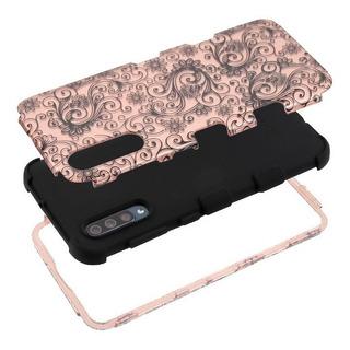 Samsung Galaxy A50/a30s Hermosa Funda 2d De Flores Resistent