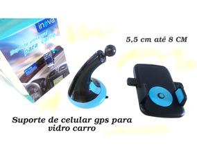 Suporte 360º Auto Retrovisor Carro Celular Smartphone Gps