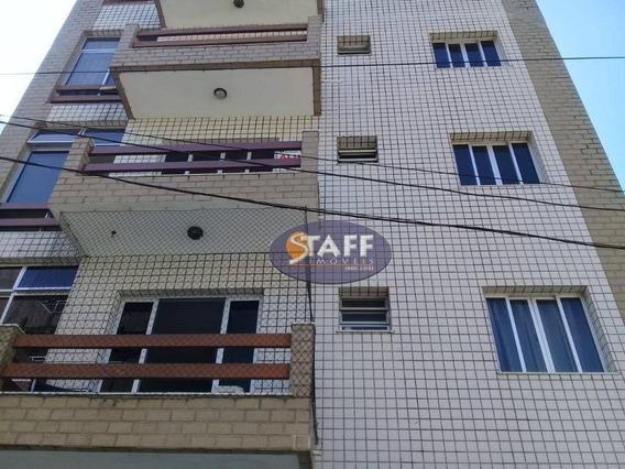 Apartamento Com 02 Dormitórios Para Aluguel Fixo, 75 M² - Bairro Passagem - Cabo Frio-rj - Ap0650