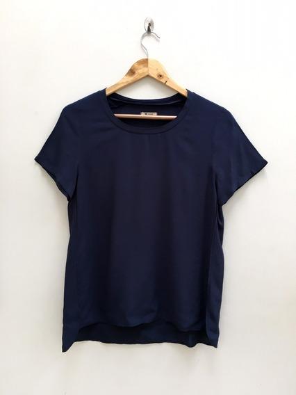 Blusa De Viscose Azul Marinho - Hering