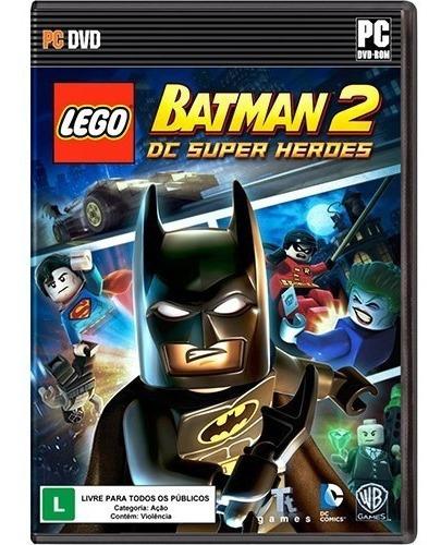 Game Lego Batman 2 Pc - Mídia Fisica Lacrado Leg Português