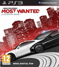 Need For Speed Most Wanted Ps3 Mídia Digital Psn