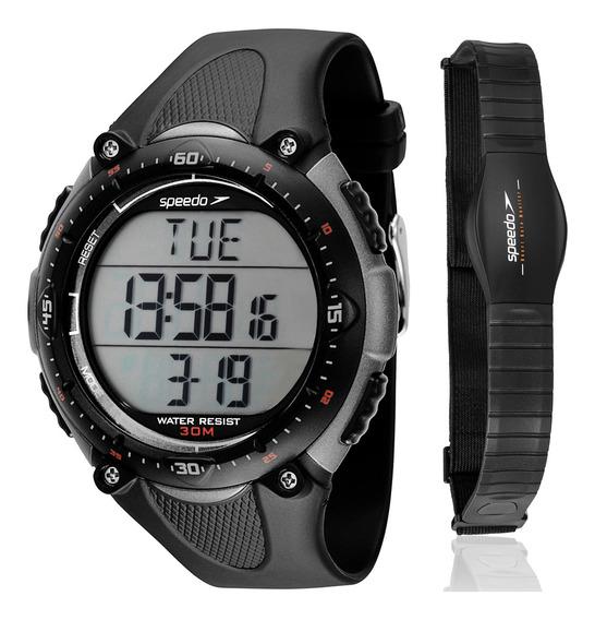 Relogio Speedo Monitor Cardiaco 80565 Goepnp2 Frete Gratis.