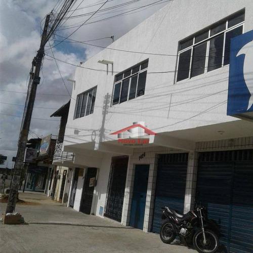 Prédio Para Alugar, 100 M² Por R$ 1.900,00/mês - Aerolândia - Fortaleza/ce - Pr0019