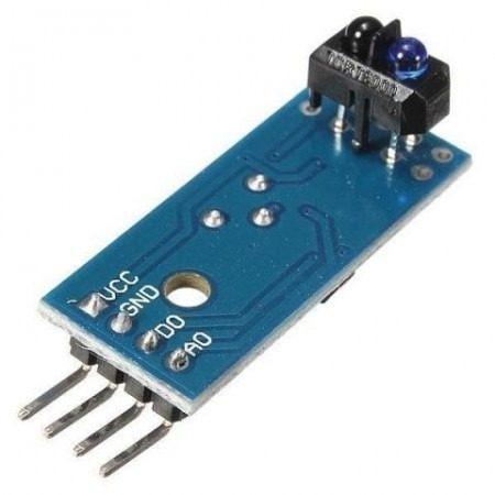 Sensor De Linha Segue Faixa Infravermelho Tcrt5000 Lm393 Ir