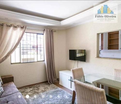 Apartamento Com 1 Dormitório, 56 M² - Venda Por R$ 260.000 Ou Aluguel Por R$ 1.500/mês - Vila Mussolini - São Bernardo Do Campo/sp - Ap1647