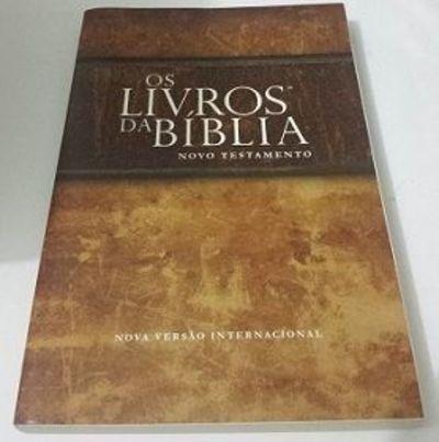 Os Livros Da Bíblia - Novo Testamento - Nova Versão Inter...