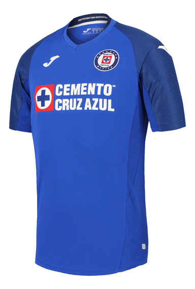 Jersey Joma Futbol Cruz Azul Local Fan 19/20 Azul