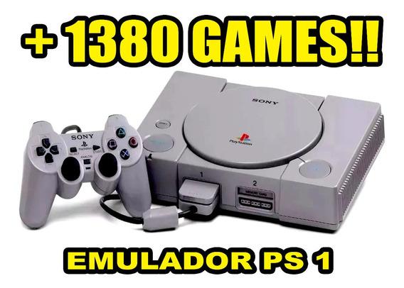 Emulador Ps1 Playstation One 1389 Jogos - Via Download
