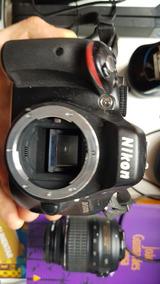 Camera Nikon D5100 + Lentes Nikon Vr 55-300mm E Vr 18-55mm