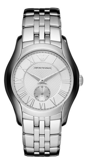 Reloj Emporio Armani Clásico Acero Inoxidable Ar1711 Garanti