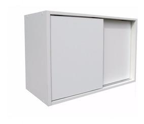 Armario Multiuso 100% Mdf 70x45x28cm Porta De Correr