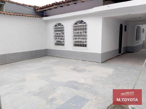 Imagem 1 de 25 de Casa Térrea Para Alugar, Com 03 Dormitórios (01 Suíte) E 03 Vagas - Macedo, Guarulhos / São Paulo - Ca0104