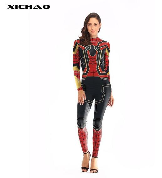 Medias Cosplay Avengers Endgame Maravilla Spiderman Clothes