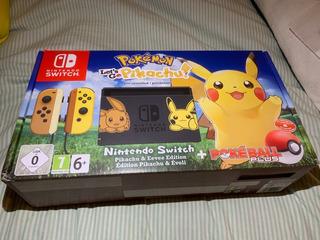 Nintendo Switch Pokemon + Funda + Fifa 19 + Vidrio Protector