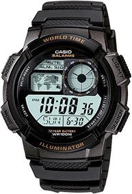 Casio Ae-1000w-1avcf Reloj Digital Para Hombre, Negro