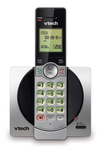 Imagen 1 de 2 de Teléfono inalámbrico VTech CS6919-2 plateado