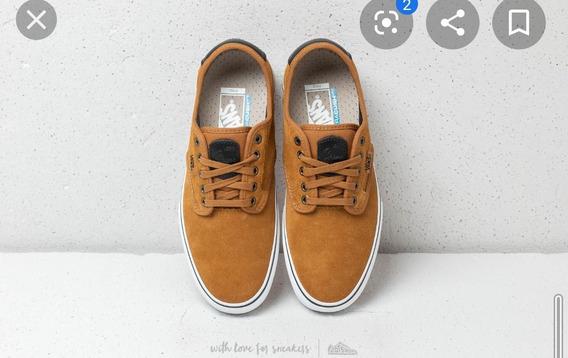 Zapatillas Vans Importadas Color Mostaza T. Us 6.5/arg 37.5.