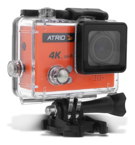 Câmera Ação Atrio Cam 4k 30fps Usb Wifi Controle Prova Dágua