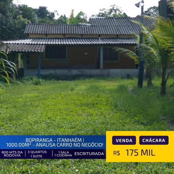 Vendo Chácara Com 3 Dormitórios Em Itanhaém Litoral Sul Sp