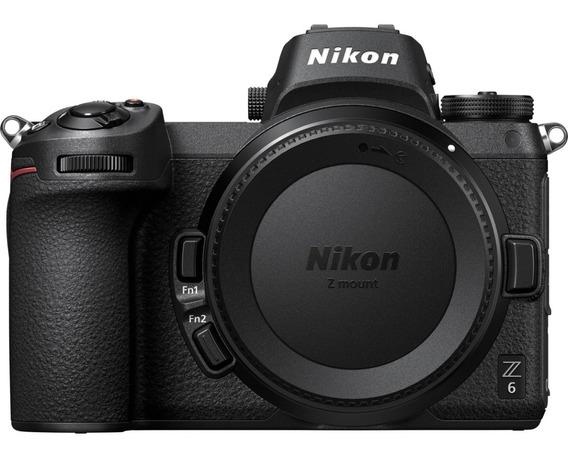 Nikon Z6 + Adap. Ftz + Xqd Card Sony 120gb + Leitor Sony