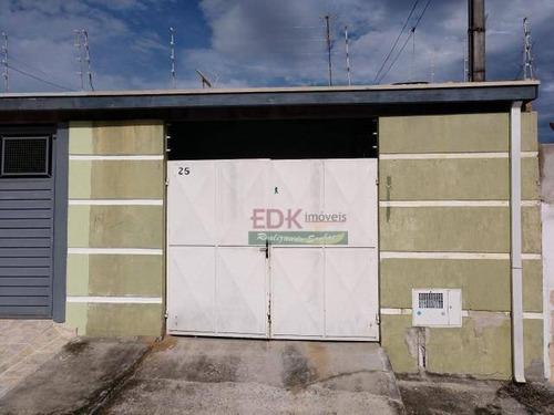 Imagem 1 de 1 de Casa Com 2 Dormitórios À Venda Por R$ 259.700 - Vila Albina - Taubaté/sp - Ca5908