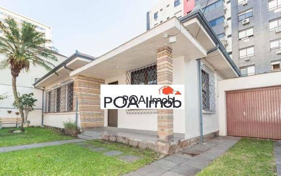 Casa Para Alugar, 135 M² Por R$ 4.500,00/mês - Menino Deus - Porto Alegre/rs - Ca0643