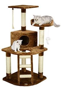 Go Pet Club Cat Tree Brown F49