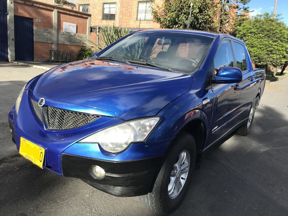 Ssangyong Actyon Sport 4x4 Diesel Doble Cabina