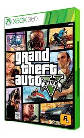 Gta Xbox V 360 Original Lacrado + Brinde