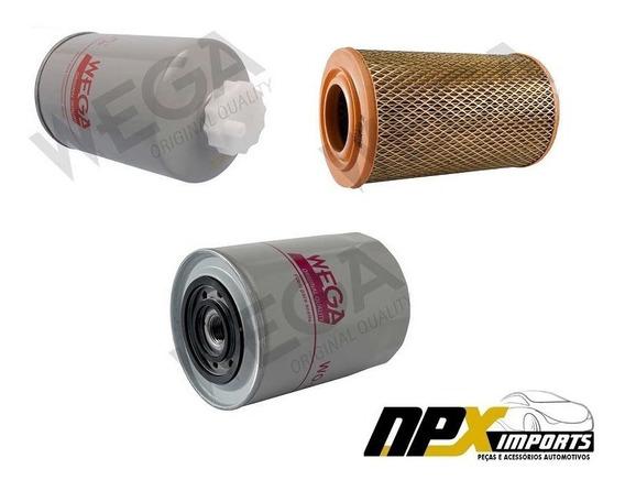 Kit Filtro De Ar Oleo Combustivel Ducato E Boxer 2.8