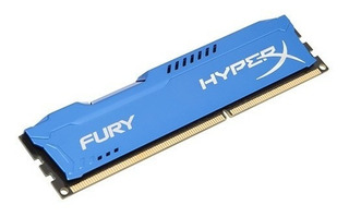 Memoria Ddr3 Kingston Hyperx Fury 8gb Blue Hx316c10f/8 1600m