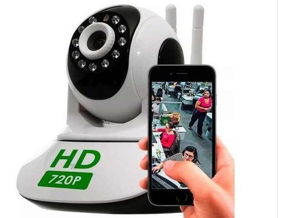 Câmera De Segurança Ip Wifi Acesso Remoto Smartphone