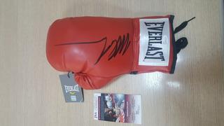 Luva Boxe Everlast Autogtrafada Mike Tyson - Com Certificado