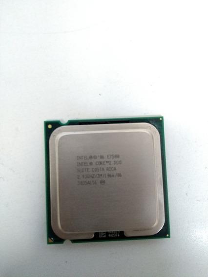 Processador Core 2 Duo E7500 2,93 Ghz, 3 M, 1066 Mhz