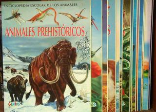 Colección Enciclopedia Escolar De Los Animales X 14 Entregas