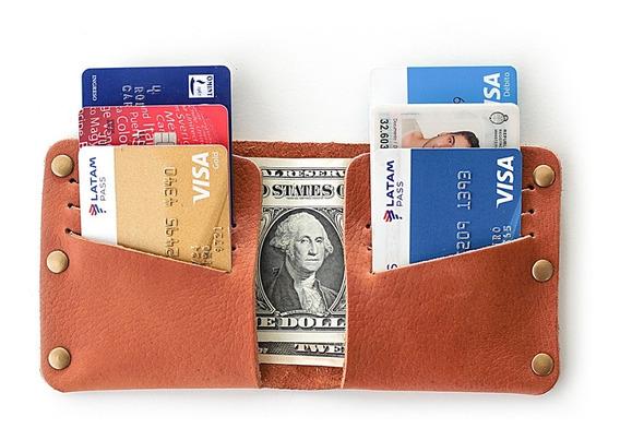Billetera En Cuero Premium Con Remaches - Dupan Cases