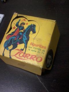 El Zorro Caja De Figuritas Vacia, Antigua