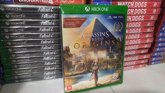 Assassins Creed Origins Ed. Limitada Xbox One Mídia Física