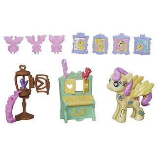 My Little Pony Pop Fluttershy Cottage Decorador Kit