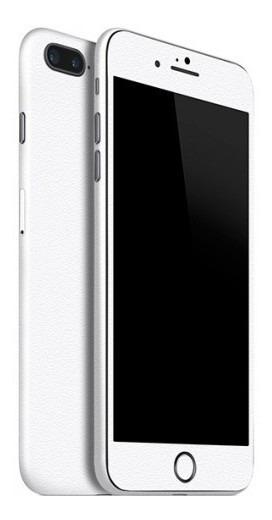 Adesivo Skin Garage42 Jateado Fosco Branco iPhone 7 Plus