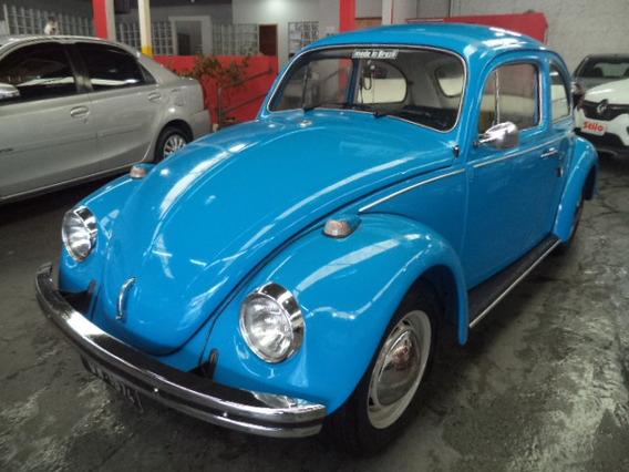 Fusca 1300 1974 /1974 Azul Pneus E Bateria Novos Veja