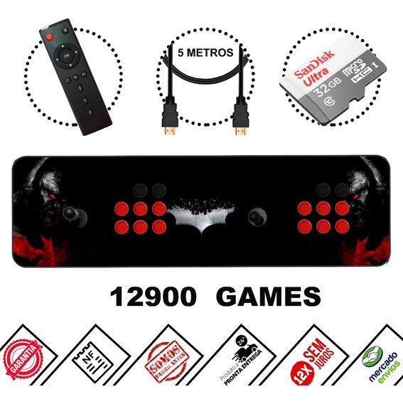 Arcade Portátil 12000 Jogos + Multimídia! 2020 ! Lançamento!